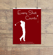 golfer presents, golfer print, personalised golf print, golfer wall art, golfer poster, customer golfer poster, golf art