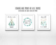 Dream Catcher Nursery Art, Adventure Nursery Print, Stay Wild Moon Child, Adventure Awaits Print, Dream Big Little One
