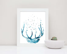 Abstract Deer Stag Head, Abstract Deer Art, Abstract Stag Print, Abstract Stag Head, Abstract Stag Art, Deer Art
