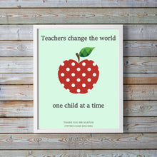 Daycare Teacher Gift, Teacher Retirement Gift, End of Year Teacher Gift, Teacher Quotes Idea