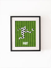 Boys Posters for Bedroom Football Prints for Walls, Soccer Poster, Football Wall Art Decor UK