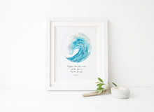 Ocean Theme Wall Decor, Ocean Theme Wall Art, Beach Themed Wall Art, Ocean Themed Bathroom Wall Art, Custom Quote Print
