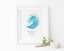 Ocean Wave Quotes, Inspirational Ocean Wave Quotes, Custom Quote Prints UK, Custom Quote Poster, Custom Quote Wall Art