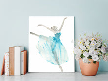 Dance Gifts for Girls, Ballerina Gifts, Ballerina Gift Ideas, Ballerina Gifts UK, Watercolor Ballet Dancer, Ballet Art
