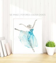 Ballerina Wall Art, Ballerina Watercolor, Ballerina Watercolour, Ballerina Watercolor Art, Ballerina Walercolor Wall Art