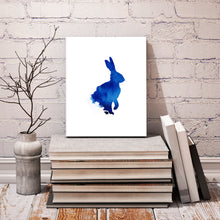Crafty Cow Design, Watercolour rabbit, watercolour rabbit painting, watercolour rabbit print, watercolour rabbit picture