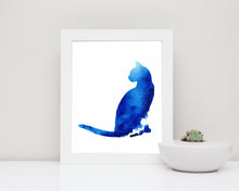 gift for cat lovers, gifts for cat lovers, cat art prints, cat art uk, cat artists, cat artwork, cat watercolour print