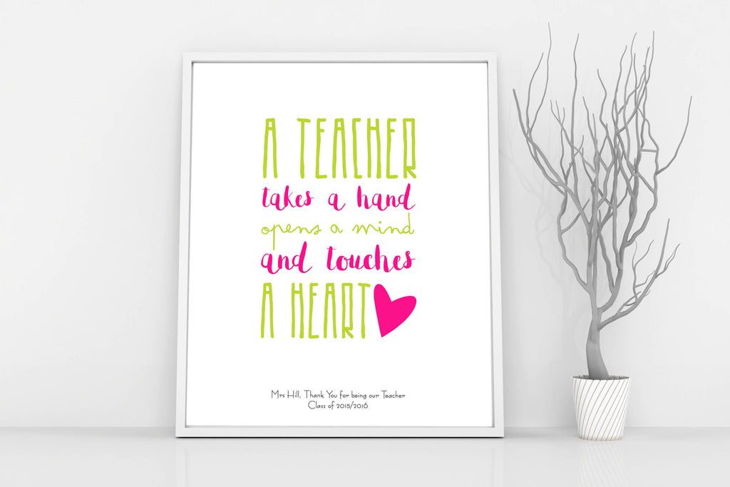 personalized gifts for teachers, teacher christmas gifts, nursery teacher gifts, thank you teacher gifts, teacher thanks