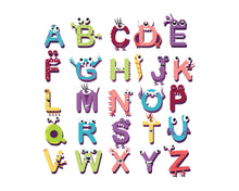 Monster Letters for Baby Boy Monster Nursery Print