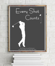 Fathers Day Golf Pictures for Man Cave, Golfer Presents, Golf Wall Art, Golf Poster Fathers Day Gift, Game Room Decor