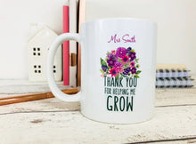 Teacher Mugs Personalized, Gift for Teacher Christmas, Gift for Teacher UK