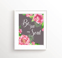 Be still my soul poster, be still my soul pictures, be still my soul wall prints, be still wall art, religious print