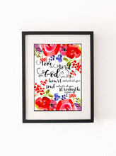 Love the Lord Your God with all your heart Bible Verse Print, Priest Gift, Scripture Art, God Quote