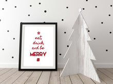 modern christmas kitchen decor, christmas wall decor, christmas wall art, christmas prints, christmas decorations stairs