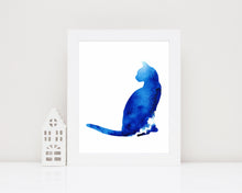 Watercolour Cat Prints, Watercolour Cat Picture, Watercolour Cat Art