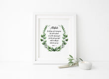 Joshua 1 verse 9 print, Biblical Gifts Women, Be Strong and Courageous Custom Bible Verse Prints, Joshua 1 9 Wall Art
