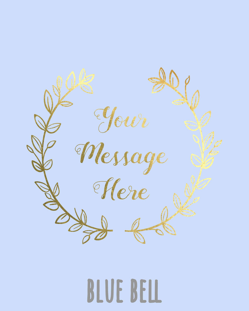 Gift for Teen, Gold Foil Prints, Custom Gold Foil Print, Your Text Here, Gold Foil Printing UK, gold foil print