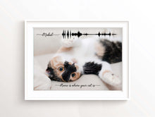 Personalized Cat Photo Gifts, Cat Owner Gift Ideas, Pet Photo Gifts, Cat Loss Gifts, Sympathy gift for Loss of Cat