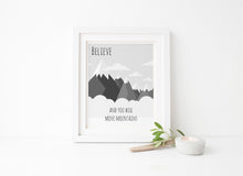 Boys Room Decor, Boys Playroom, Nature, Mountain Poster, Adventure Quotes, Mountain Printable