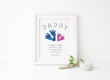 handprint art for dad birthday, baby footprint art, handprint gifts for dad,handprint gift ideas,hand and footprint art