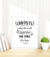 Dental Art for Office, Dentist Gift for Dentist Quote, Dentist Art, Dental Gifts, dental wall art