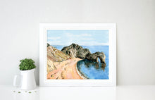 Dorset Watercolour Artists, Dorset Watercolours For Sale, Dorset Watercolors, Beach Themed Decor, dorset artists uk