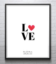 Love Print, Love Printables, Engagement Gift for Couple, Coule Engagement Gifts, Engagement Present ideas UK, Couple Gift