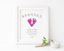 Handprint Keepsake,Daddy Gifts, Fathers Day Gifts from Kids, grandad fathers day gift, grandad gifts, fathers day gifts