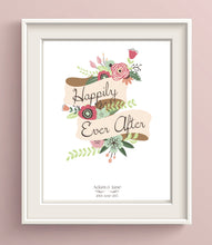 happily ever after print, happily ever after wall art, happily ever after poster, happily ever after art