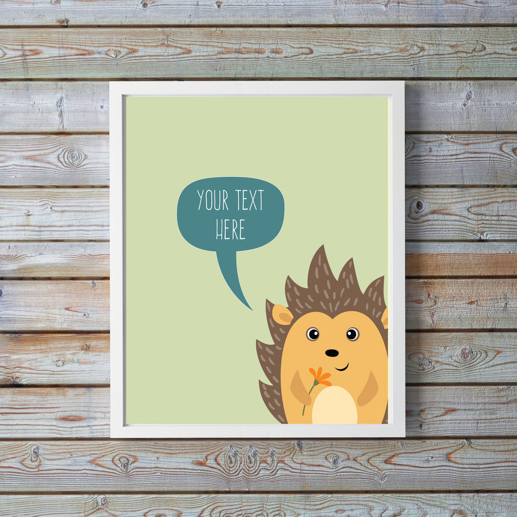 personalised fox nursery uk, personalised nursery prints, personalised nursery decor, personalised nursery wall art