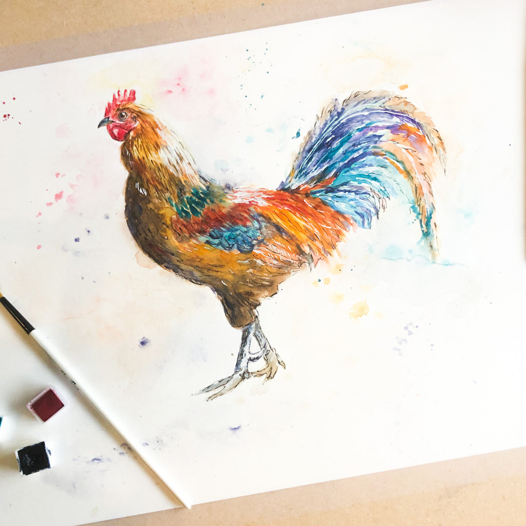 chicken poster, hen prints, Chicken Art, Farmhouse Decor, Chicken Prints, Bird Print, Farmhouse Wall Art, chicken art