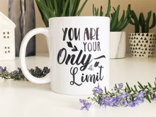 You are Your Only Limit, Inspirational Mugs With Sayings, Motivational Mug, Coffee Mugs With Quotes, Inspirational Mug