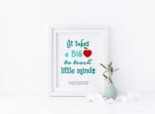Best Teacher Print, Thank You Teacher, Daycare Teacher Gift, Gifts for Teachers, Personalized Teacher Appreciation Gift