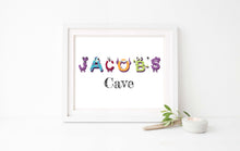 Custom Name Prints for Wall, kids name wall art, personalised name picture, personalised name wall decor