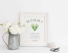 mother's day handprint idea, mother's day gifts, mother's day gift ideas, personalised mothers day gifts, baby handprint