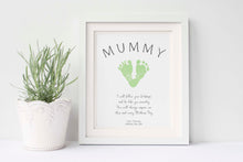 mother's day handprint, mother's day handprint art, Baby Keepsake Gifts, Baby Keepsake Ideas, Mothers Day Footprint Art