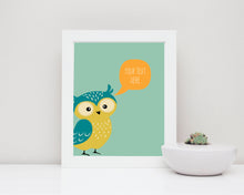 Custom Quote Nursery UK, Woodland Nursery Prints, Woodland Nursery Decor, custom quote wall art, custom quote prints uk