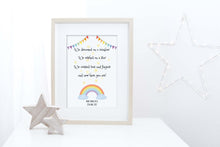 Nursery Wall Art Girl, Pictures for Girls Room, Rainbow Baby Wall Art, Rainbow Baby Presents