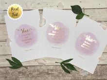 Gold Foil Nursery Prints, Girls Wall Art Print, Girls Bedroom Ideas, pink wall art, pink art, pink wall decor, girls