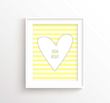 yellow and grey nursery prints, yellow and grey nursery decor, yellow and grey nursery wall art, new baby girl room art