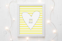 Shine Bright Picture Prints, Gray and Yellow Nursery Wall Art, Baby Girl Bedroom Decor, Girls Wall Decor For Nursery