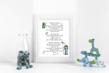 Nursery Bible Verse Art, Bible Verse for Nursery, Nursery Bible Verses, Bible Art Prints