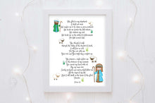 Christian Nursery Art, Christian Nursery Prints, christian children's wall decor