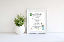 Bible Verse Art Prints, Psalm 23 Wall Decor, Psalm 23 Print, Psalm 23 for Kids