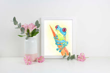 Frog Watercolour paintings, Frog watercolor art, frog watercolor pictures, watercolor frog, watercolor frog paintings