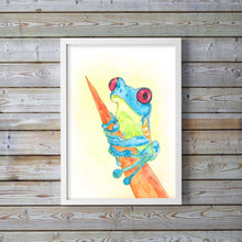 watercolor frog art, watercolour frog, watercolour frog paintings, watercolour frog art, frog wall art print