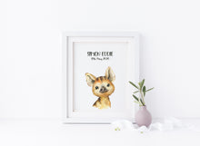 Pig Nursery Decor, Woodland Animal Prints, Watercolour Nursery Print, Woodland Nursery Decor, Woodland Animal Prints