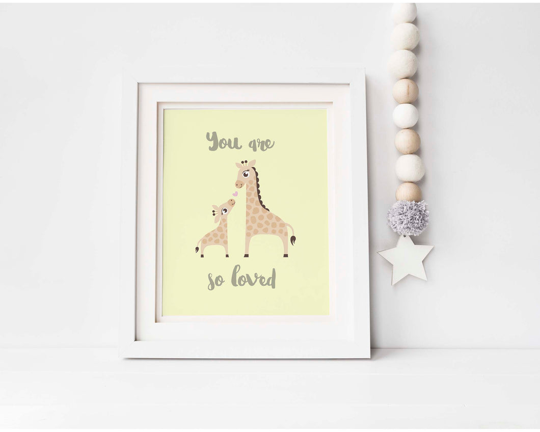 Giraffe Nursery Decor UK, Giraffe Nursery Wall Art, Giraffe Nursery Ideas, Giraffe Nursery Print, Nursery Print Giraffe