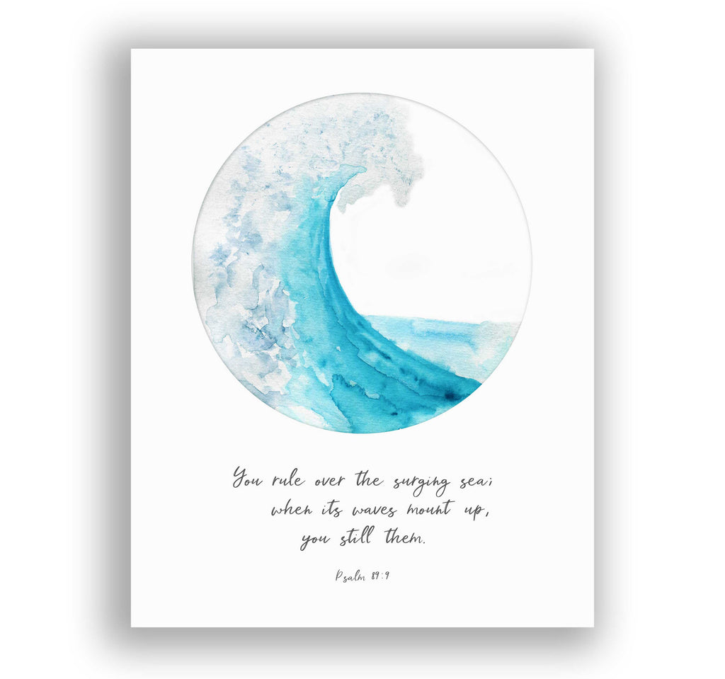 Personalised Quote Print, Personalised Quote Gifts, Personalised Quote Wall Art, Personalised Quote Poster, Ocean Roar