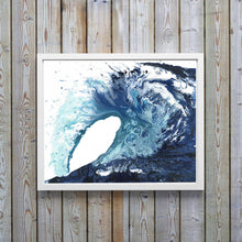 Abstract Art Prints - Ocean Waves Wall Art, Sea Prints, Beach Wall Art, Nautical Wall Art